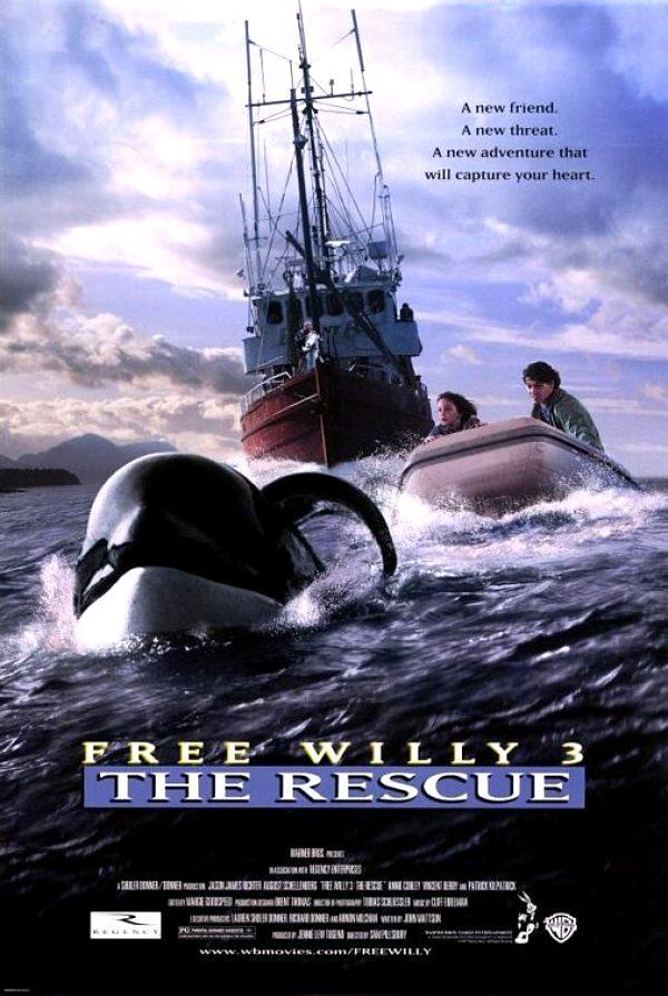 Πόστερ της ταινίας «Free Willy 3: Η Διάσωση (1997) | Free Willy 3: The Rescue»