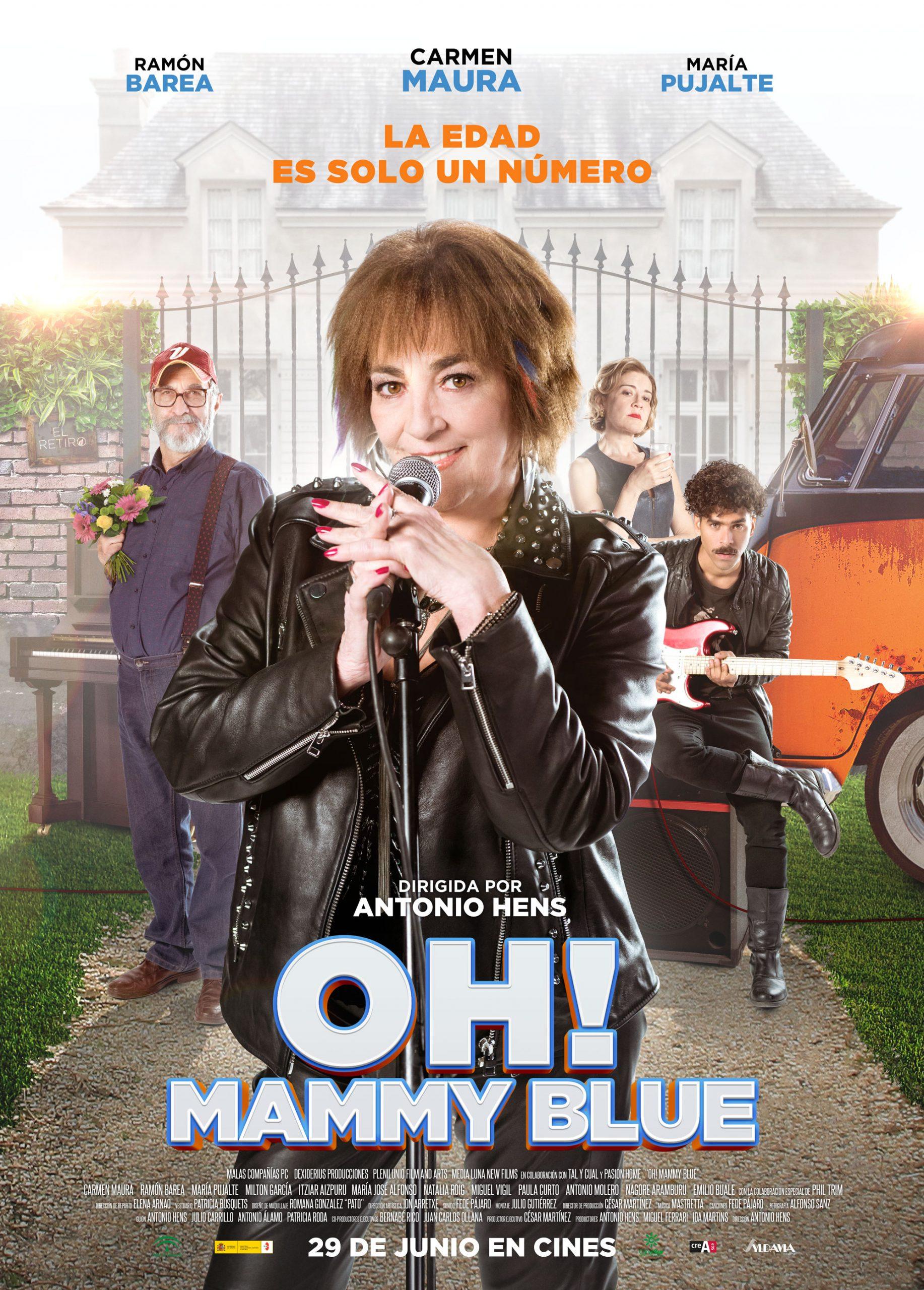 Πόστερ της ταινίας «Oh! Mammy Blue (2018)»
