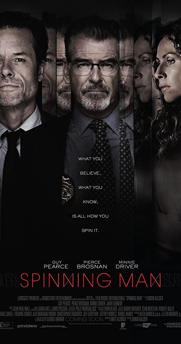 Πόστερ της ταινίας «Βασικός Ύποπτος (2018) | Spinning Man»