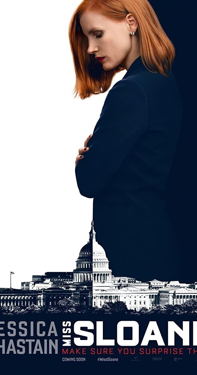 Πόστερ της ταινίας «Κυρία Σλόαν (2016) | Miss Sloane»