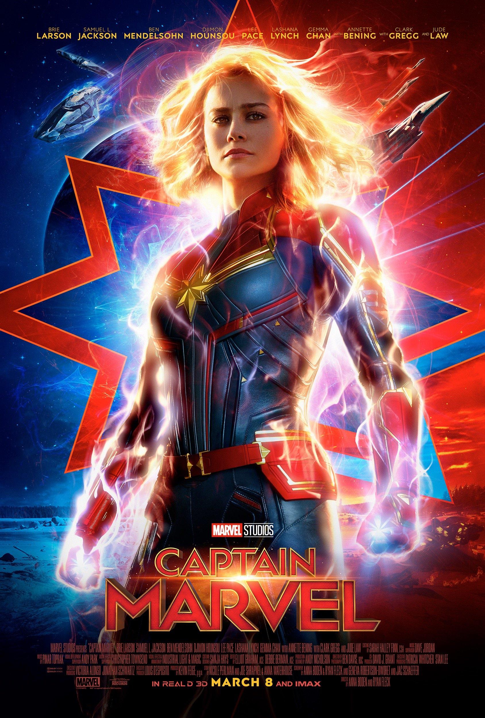 Πόστερ της ταινίας «Captain Marvel (2019)»