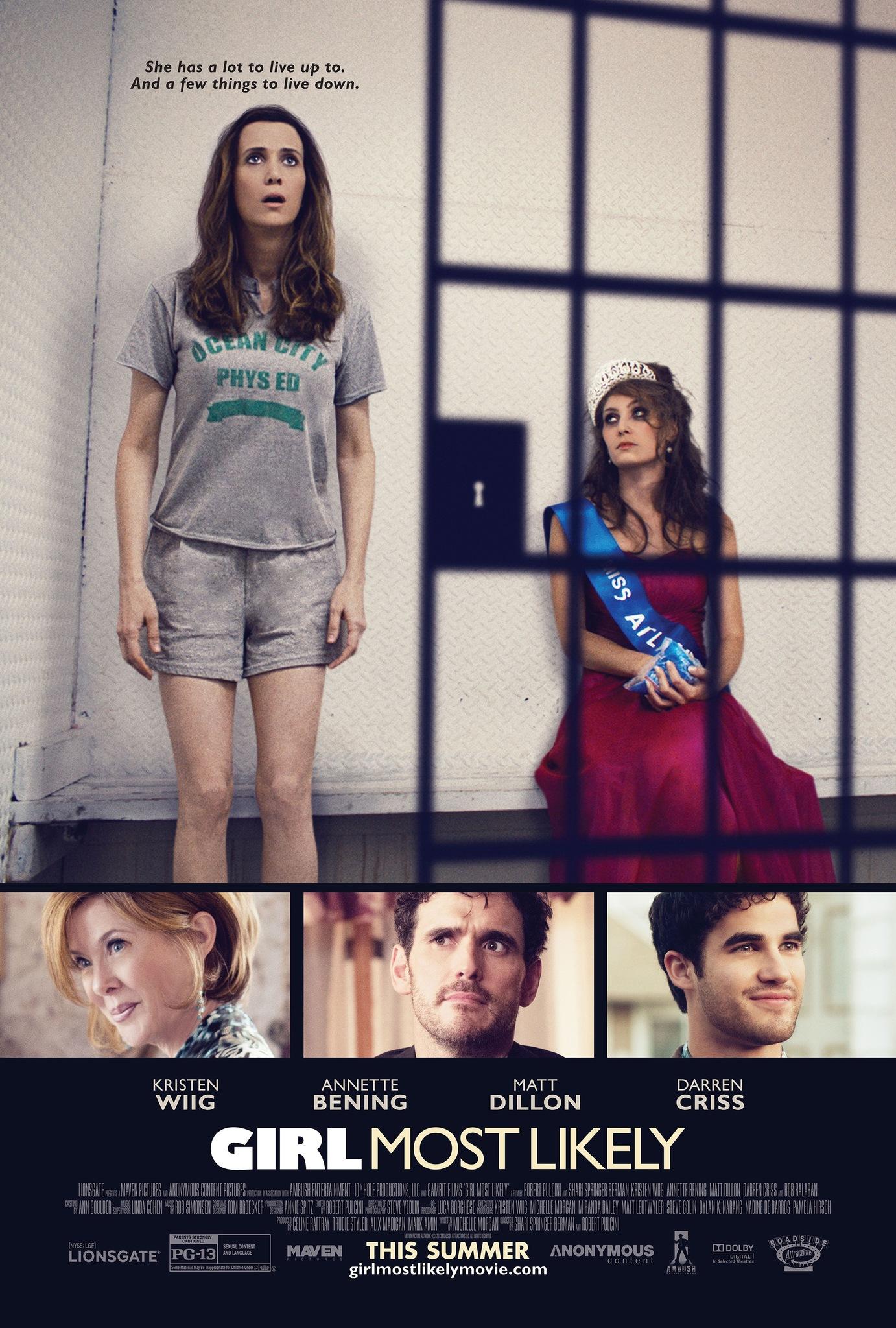 Πόστερ της ταινίας «Καμία Δεν Είναι Τέλεια (2012)   Girl Most Likely»