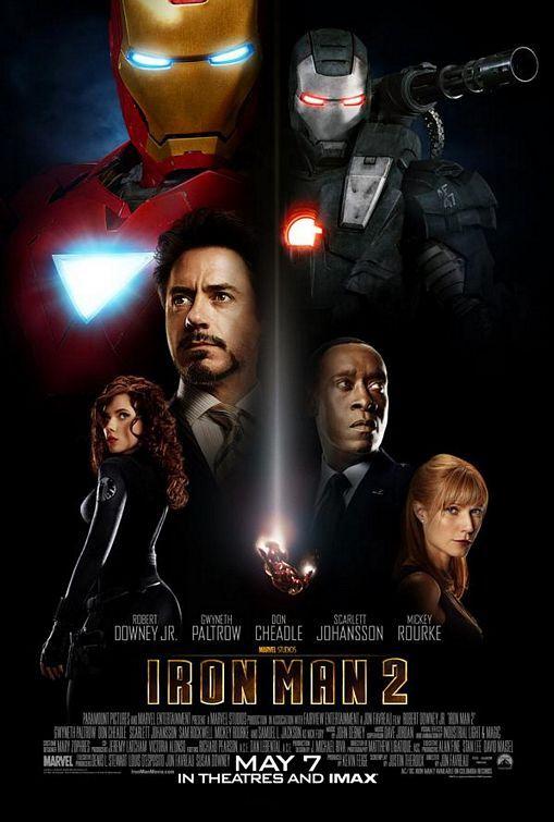 Πόστερ της ταινίας «Iron Man 2 (2010)»