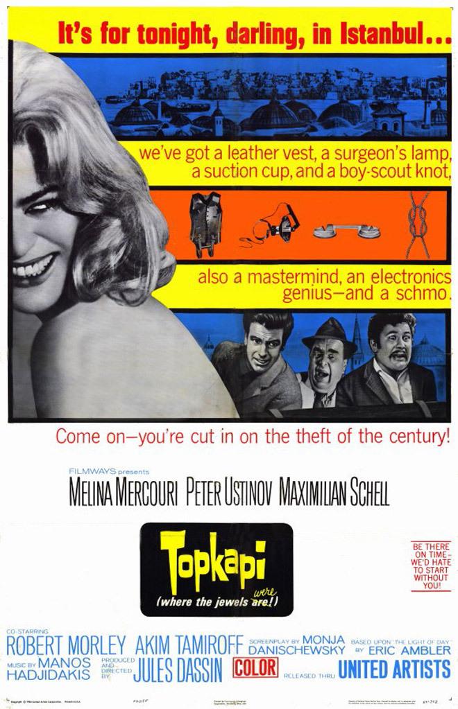 Πόστερ της ταινίας «Τοπ Καπί (1964)   Topkapi»