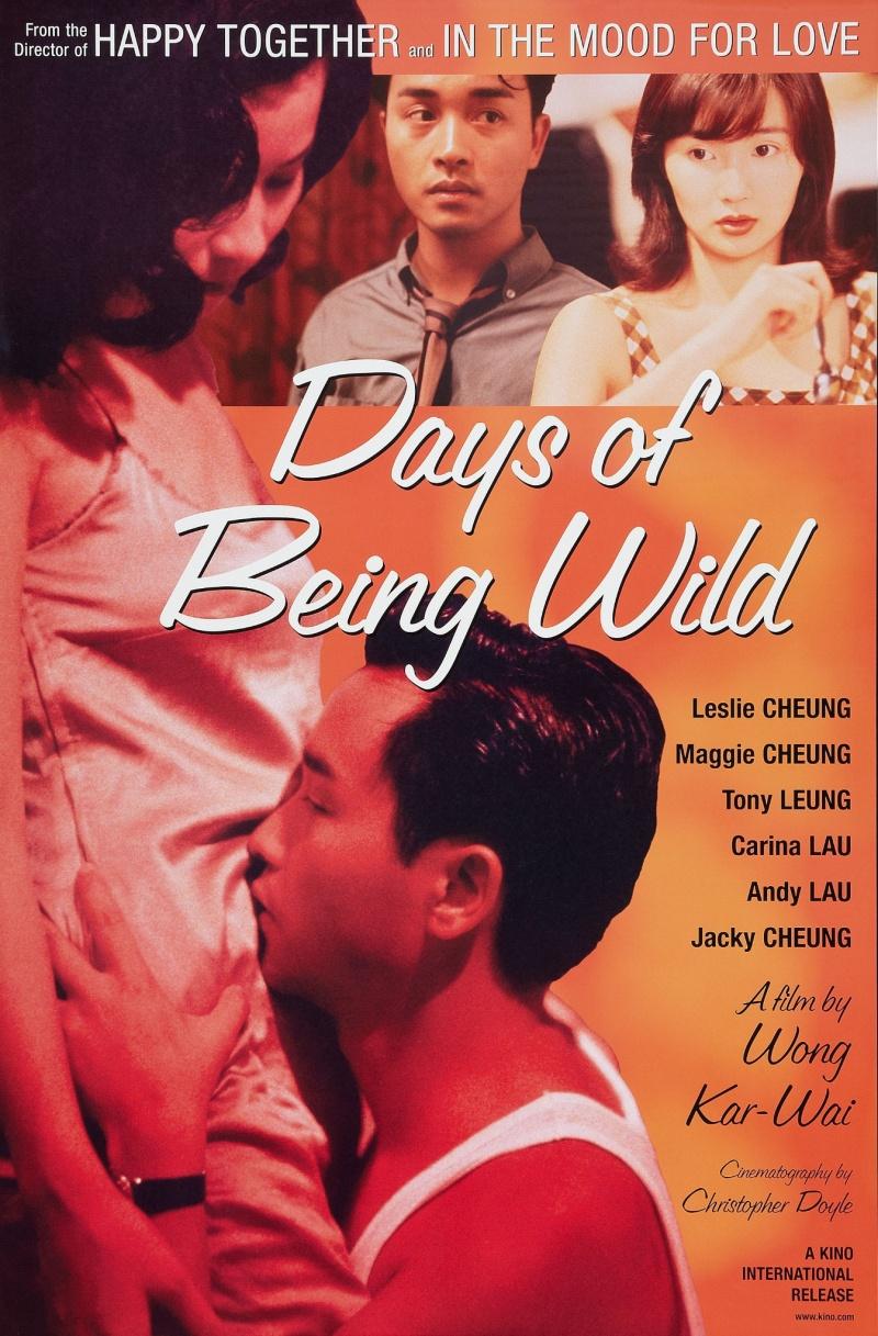 Πόστερ της ταινίας «Οι Άγριες Μέρες Μας (1990)   Days of Being Wild»