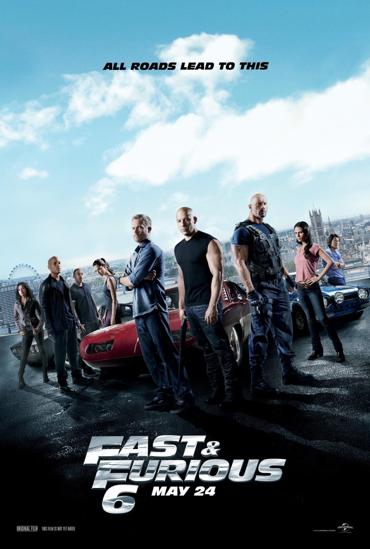Πόστερ της ταινίας «Μαχητές των Δρόμων 6 (2013)   Furious 6»