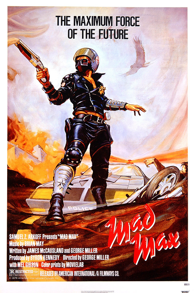 Πόστερ της ταινίας «Μαντ Μαξ: Ο εκδικητής της νύχτας (1979)   Mad Max»