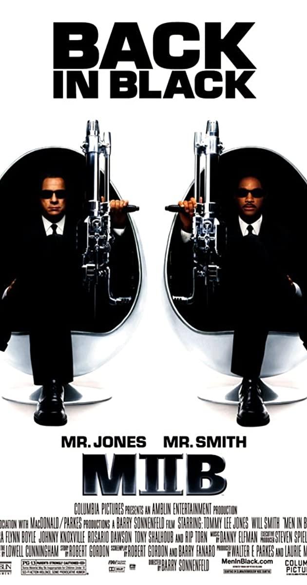 Πόστερ της ταινίας «Οι Άνδρες με τα Μαύρα 2 (2002)   Men in Black II»