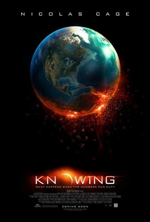 Πόστερ της ταινίας «Σκοτεινός Κώδικας (2009)   Knowing»