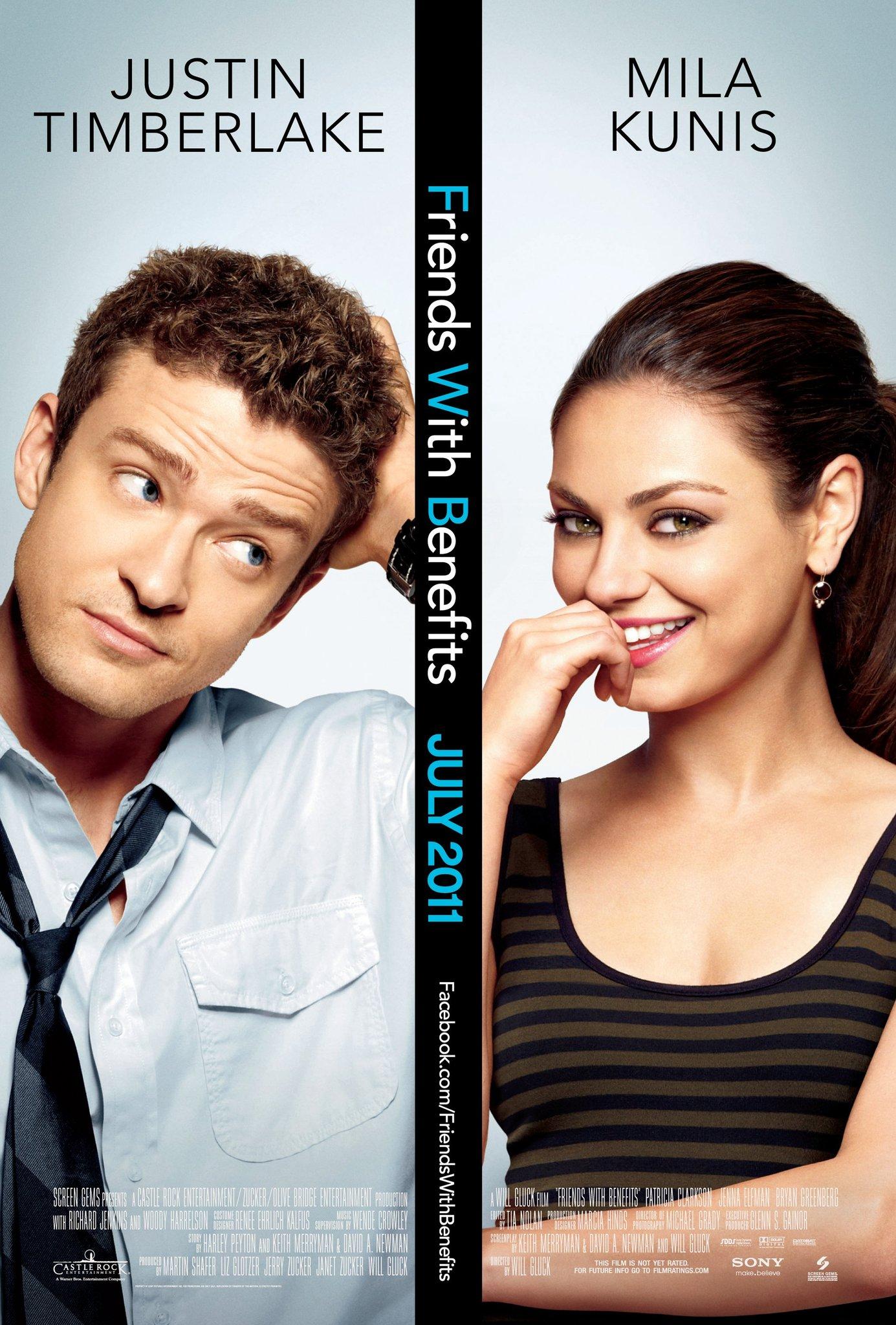 Πόστερ της ταινίας «Όχι μόνο φίλοι (2011)   Friends with Benefits»