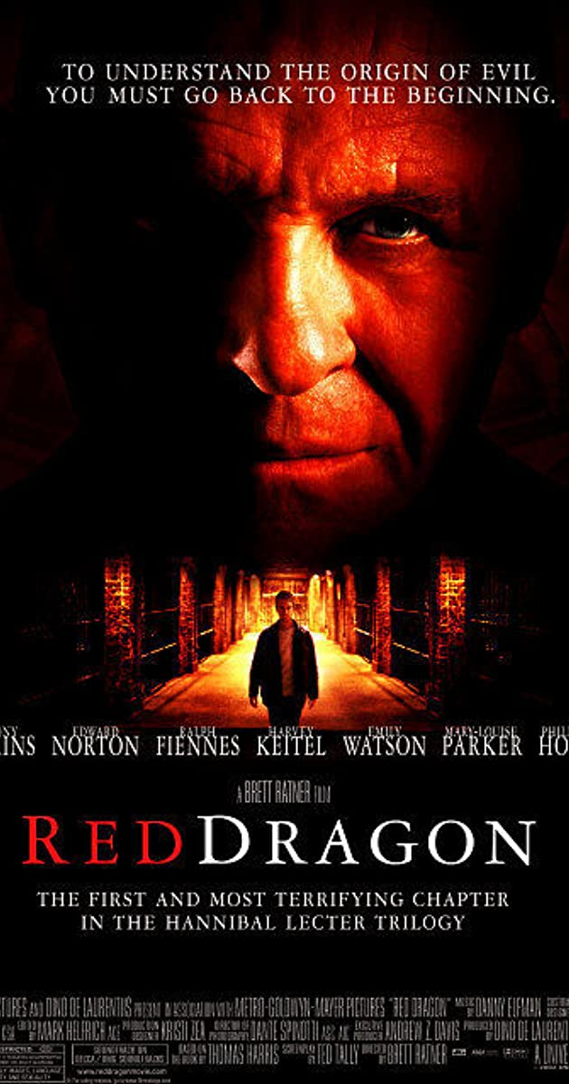 Πόστερ της ταινίας «Κόκκινος δράκος (2002) | Red Dragon»