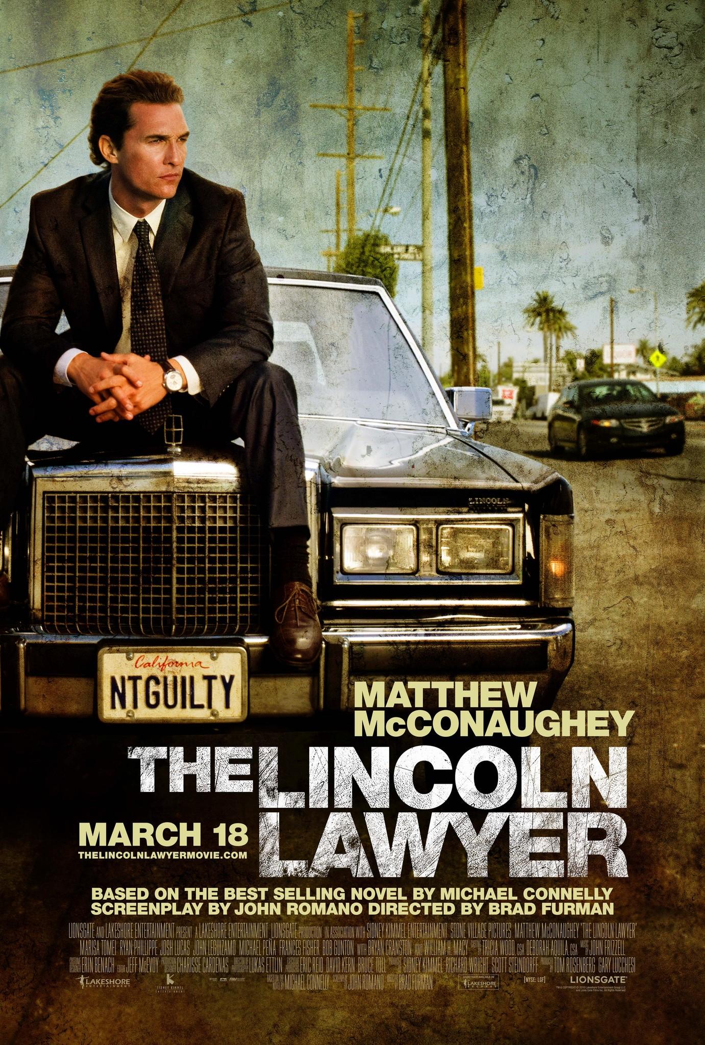 Πόστερ της ταινίας «Δικηγόρος Σκοτεινών Υποθέσεων (2011)   The Lincoln Lawyer»