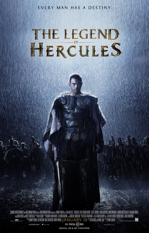 Πόστερ της ταινίας «Ηρακλής: Η Αρχή του Θρύλου (2014) | The Legend of Hercules»