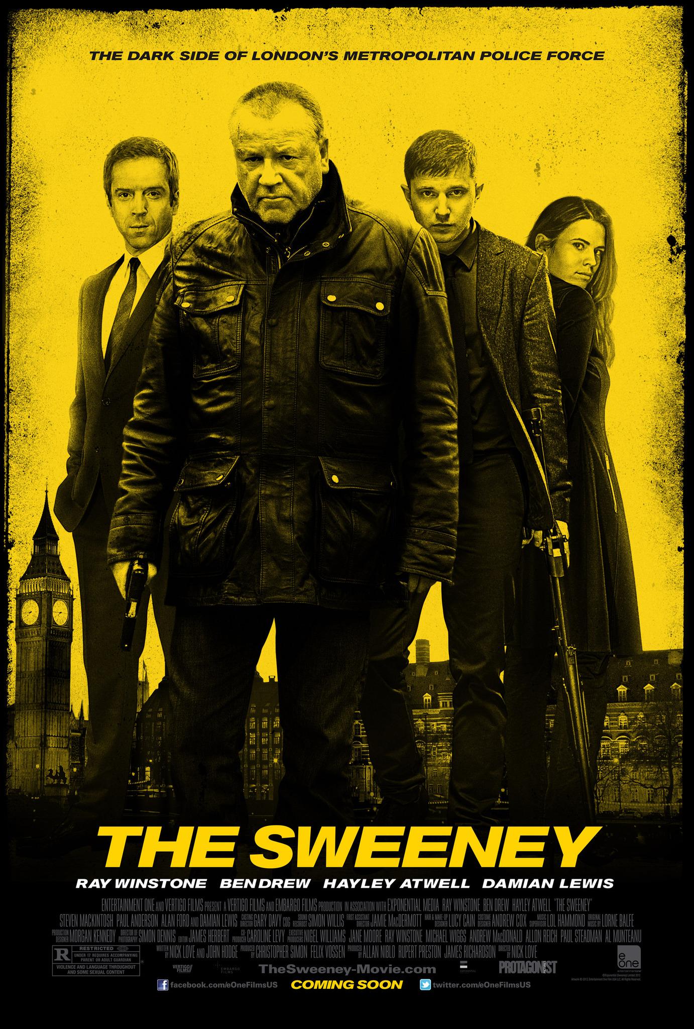 Πόστερ της ταινίας «Ειδική Ομάδα Sweeney (2012)   The Sweeney»