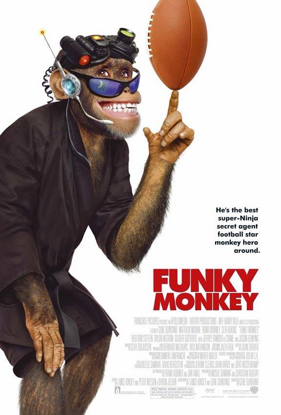 Πόστερ της ταινίας «Ένας Μοντέρνος Χιμπατζής | Funky Monkey (2004)»