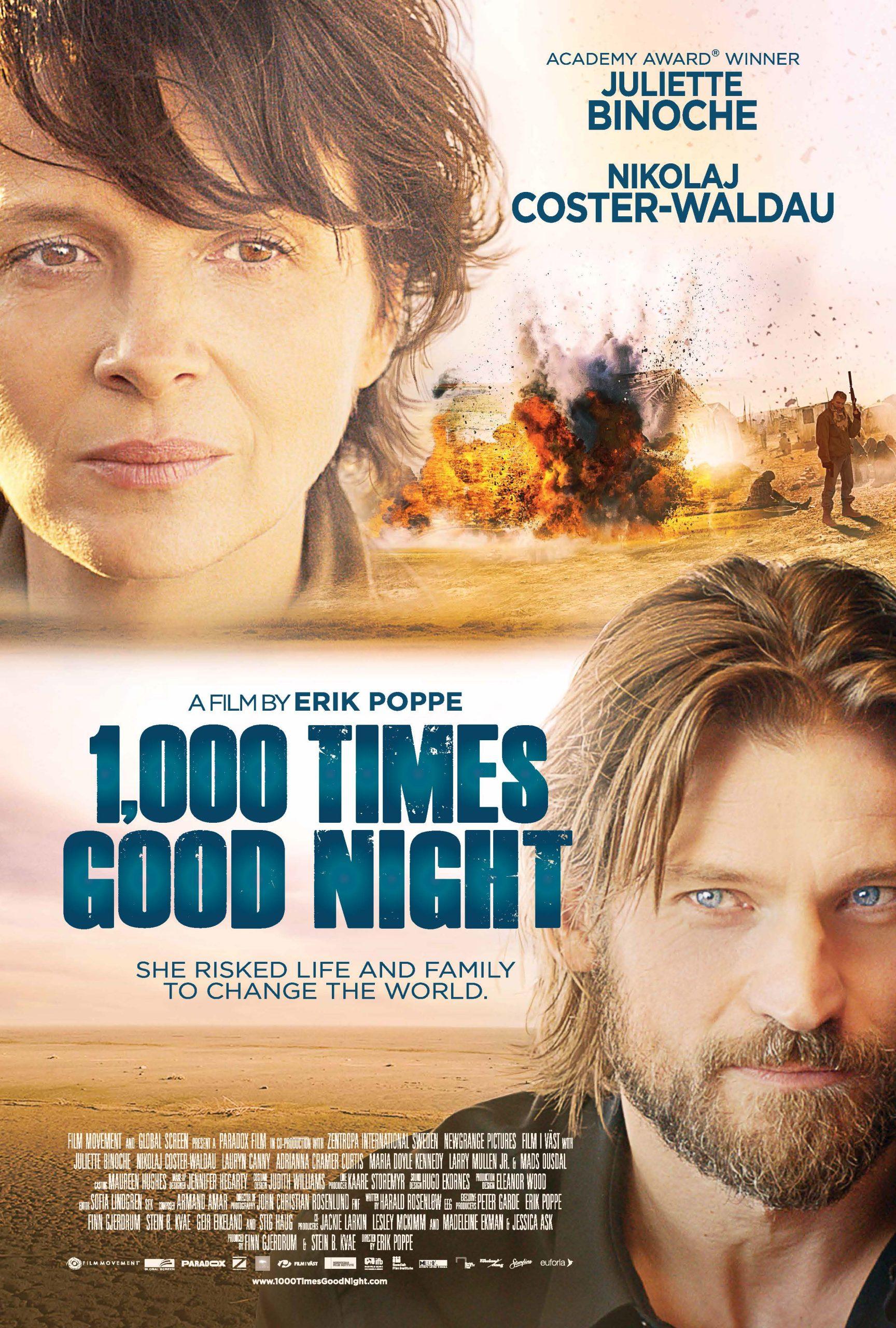 Πόστερ της ταινίας «Χίλιες φορές καληνύχτα (2013)   A Thousand Times Good Night»