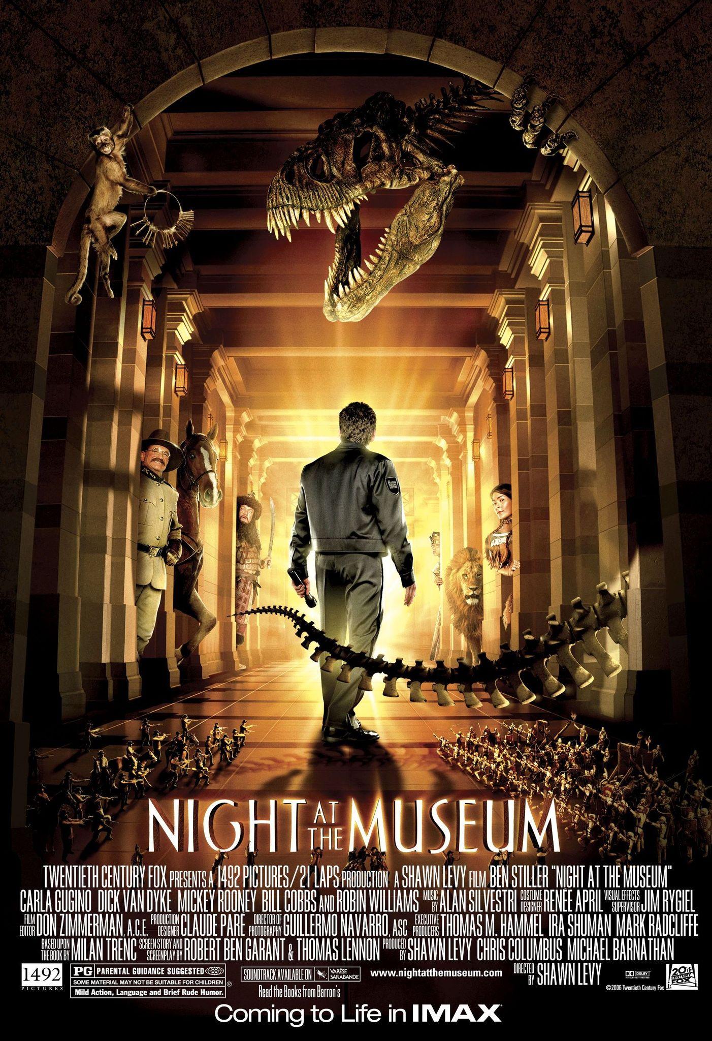 Πόστερ της ταινίας «Μια νύχτα στο μουσείο (2006) | Night at the Museum»