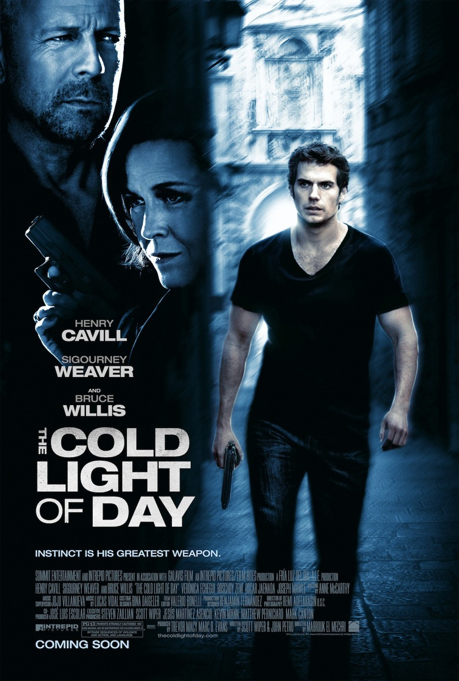 Πόστερ της ταινίας «Μην Εμπιστεύεσαι Κανέναν (2012) | The Cold Light of Day»
