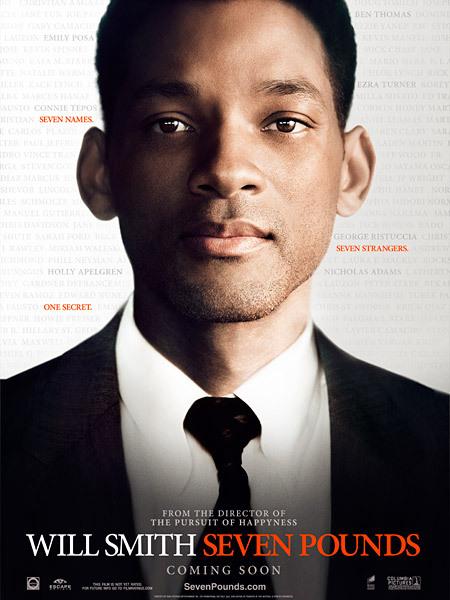 Πόστερ της ταινίας «Επτά ζωές (2008) | Seven Pounds»