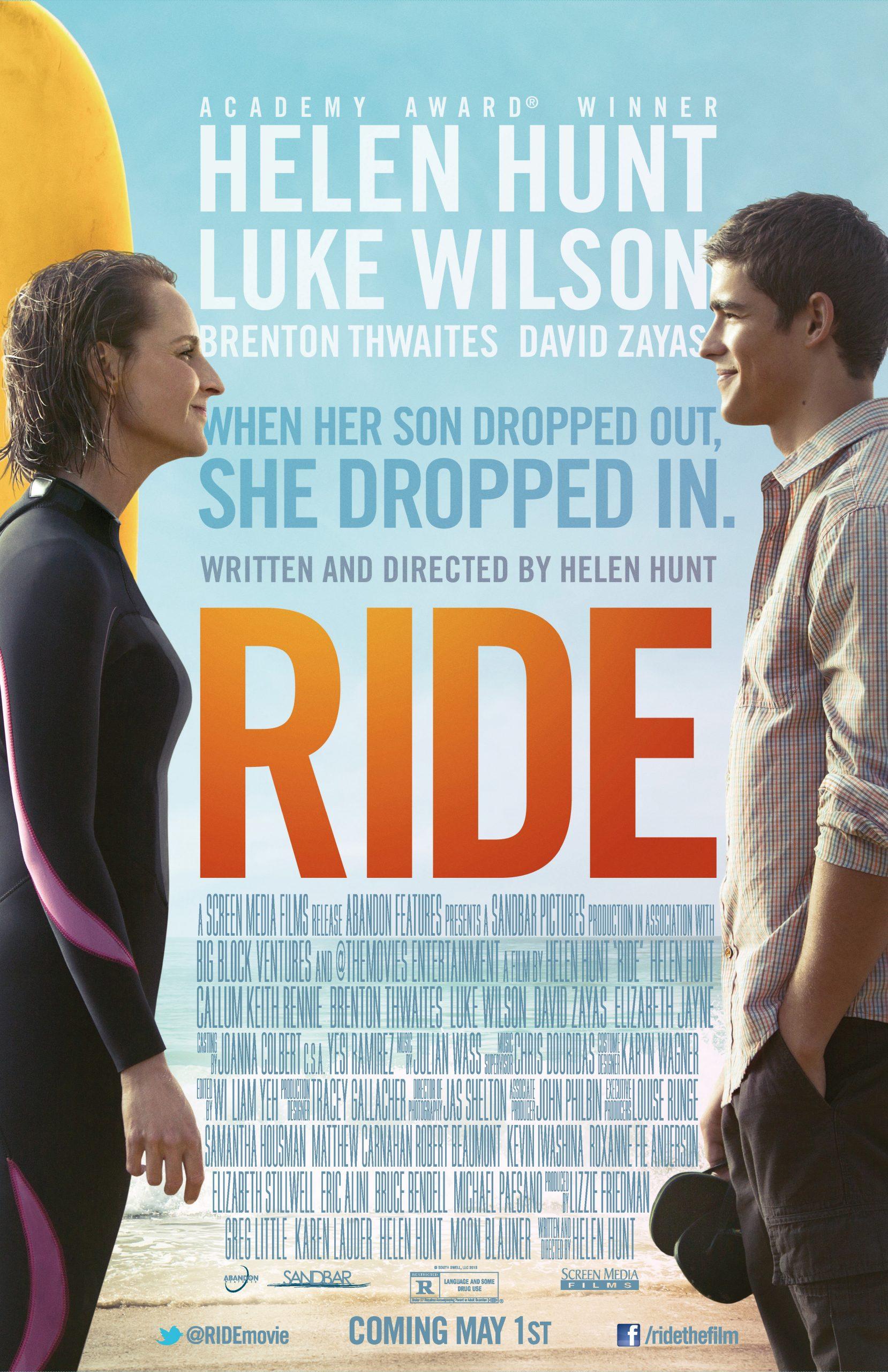 Πόστερ της ταινίας «Μάθε Μαμά μου Σερφ (2014) | Ride»