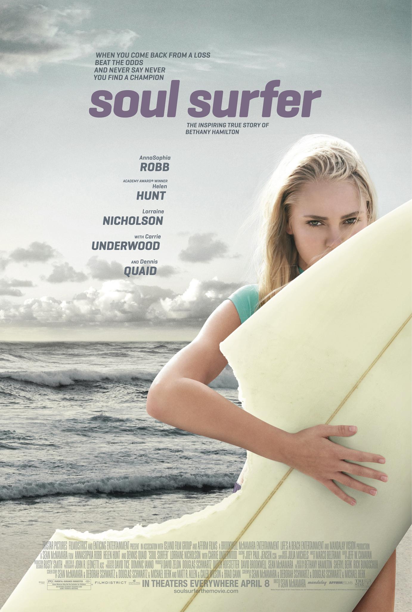 Πόστερ της ταινίας «Η Νικήτρια (2011)   Soul Surfer»