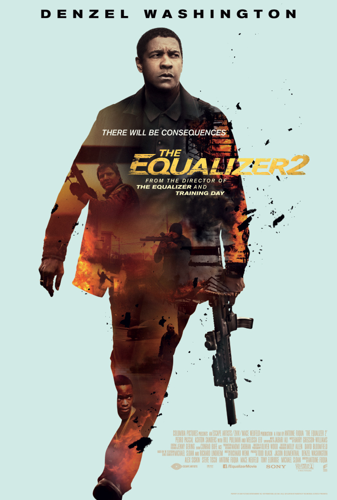 Πόστερ της ταινίας «The Equalizer 2 (2018)»