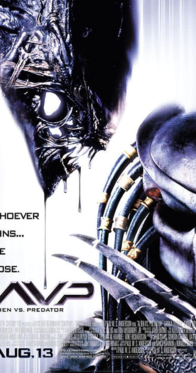 Πόστερ της ταινίας «Άλιεν Εναντίον Κυνηγού (2004)   AVP: Alien vs. Predator»