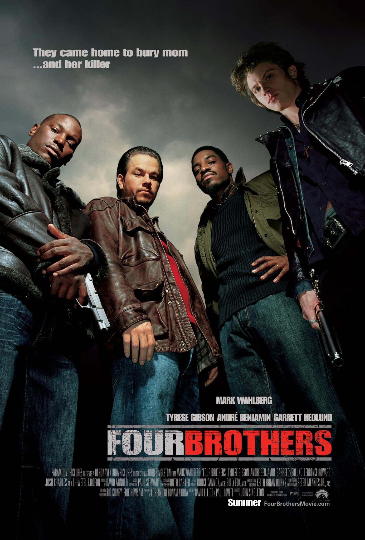 Πόστερ της ταινίας «Four Brothers (2005)»