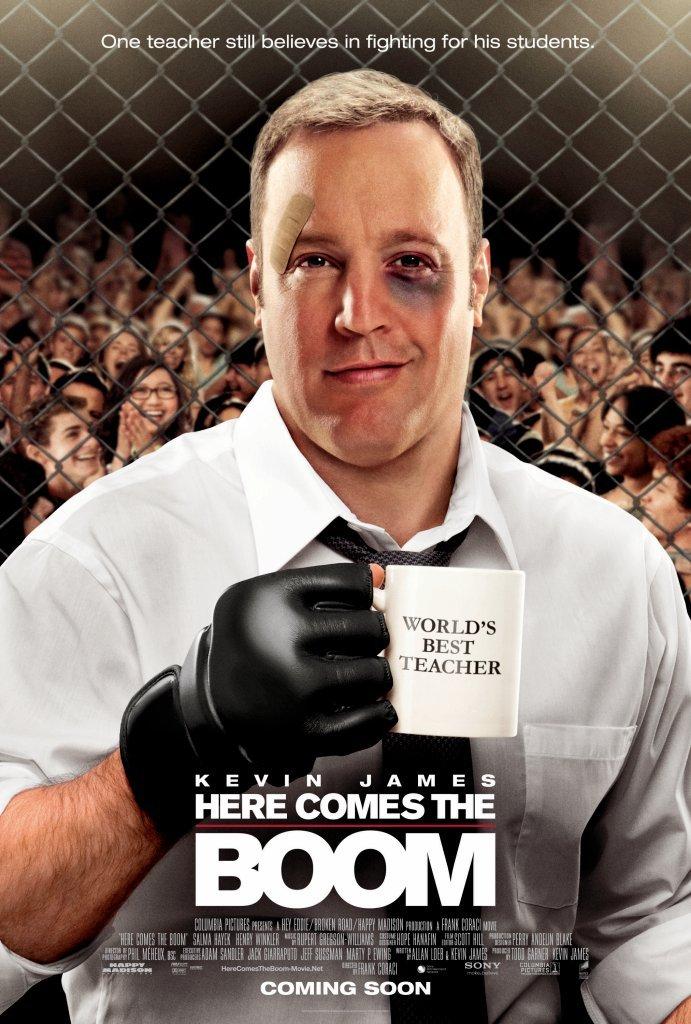 Πόστερ της ταινίας «Καθηγητής Βαρέων Βαρών (2012) | Here Comes the Boom»