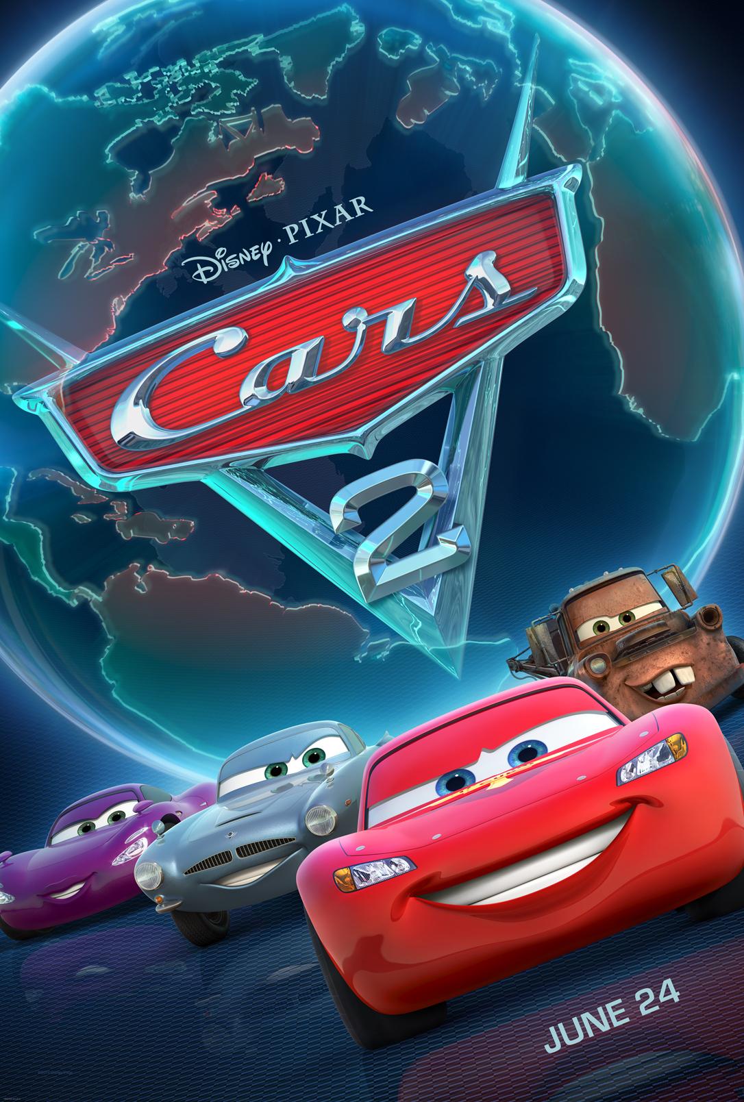 Πόστερ της ταινίας «Αυτοκίνητα 2 (2011) | Cars 2»