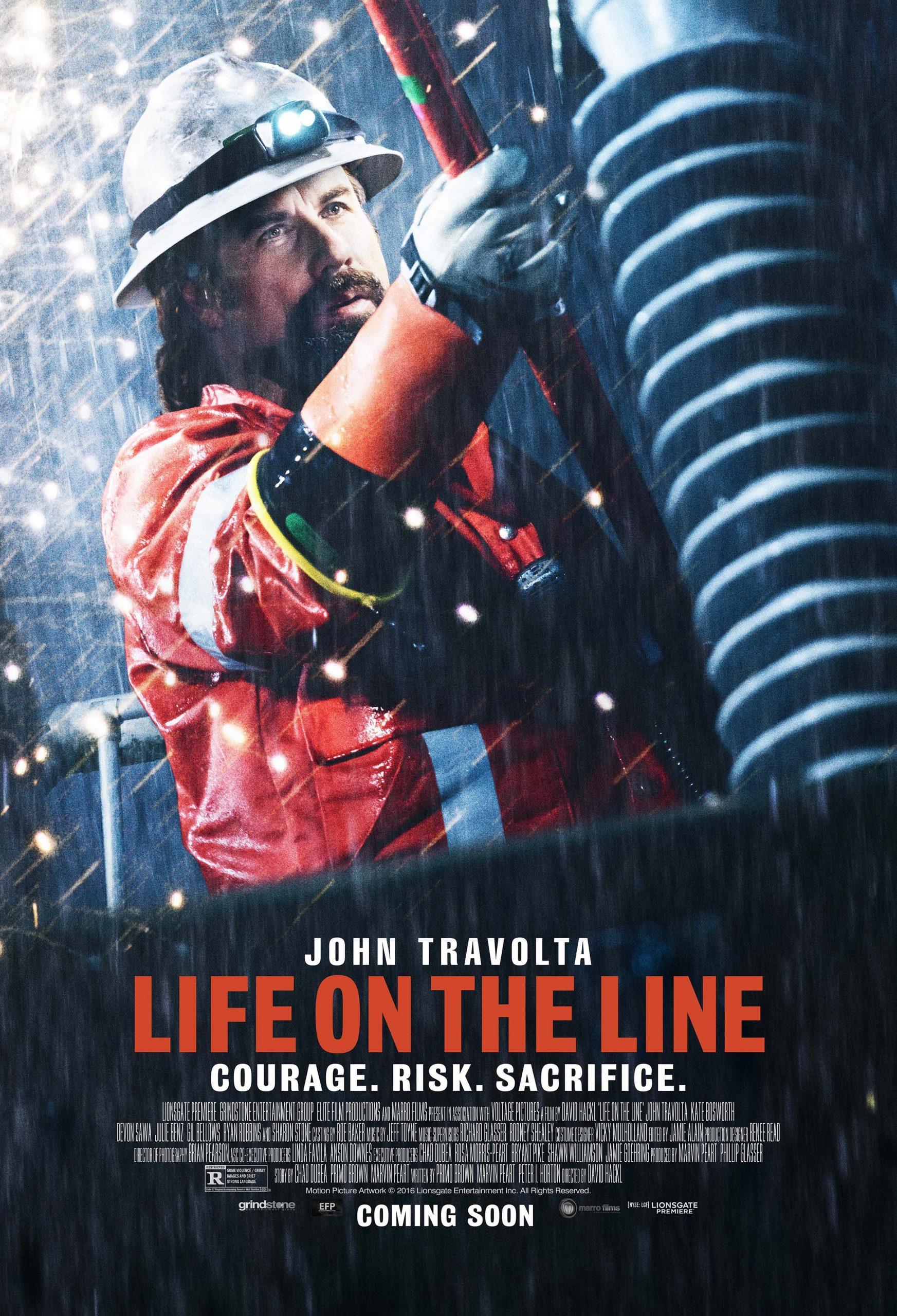 Πόστερ της ταινίας «Φονική Καταιγίδα (2015)   Life on the Line»