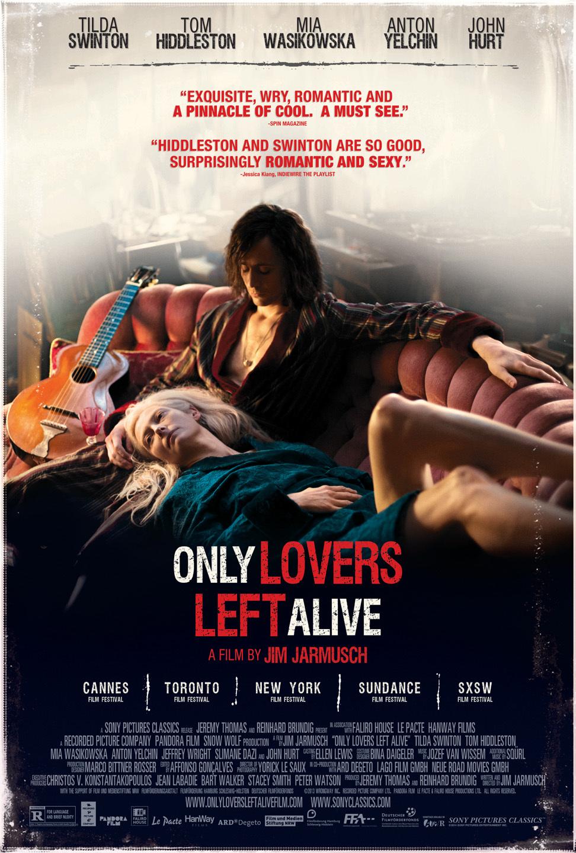 Πόστερ της ταινίας «Μόνο Οι Εραστές Μένουν Ζωντανοί (2013)»