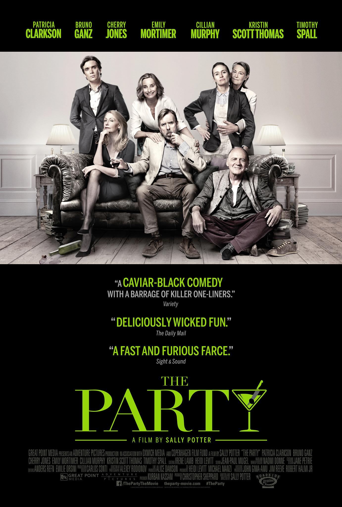 Πόστερ της ταινίας «The Party (2017)»