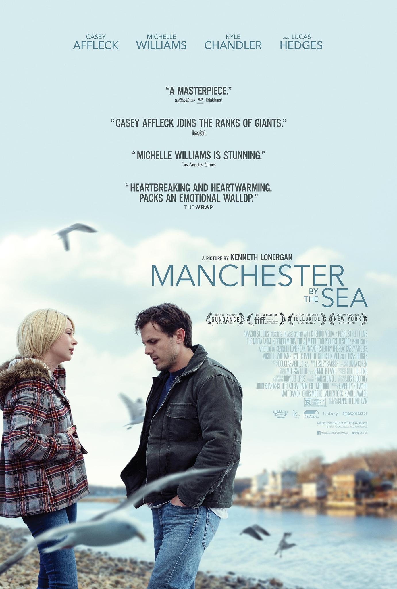 Πόστερ της ταινίας «Μια Πόλη Δίπλα στη Θάλασσα (2016) | Manchester by the Sea»