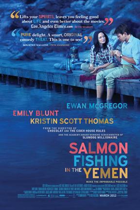 Πόστερ της ταινίας «Ψαρεύοντας Σολομούς στην Υεμένη (2011)»