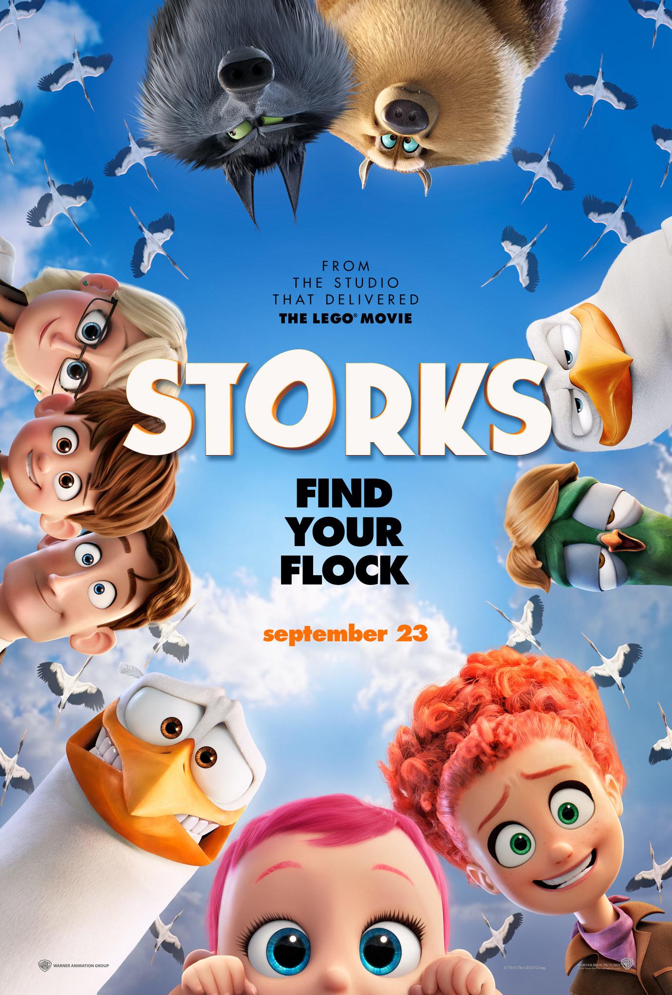 Πόστερ της ταινίας «Πελαργοί (2016) | Storks»