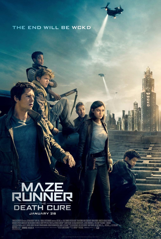Πόστερ της ταινίας «Ο Λαβύρινθος: Η Τελική Δοκιμασία (2018) | Maze Runner: The Death Cure»