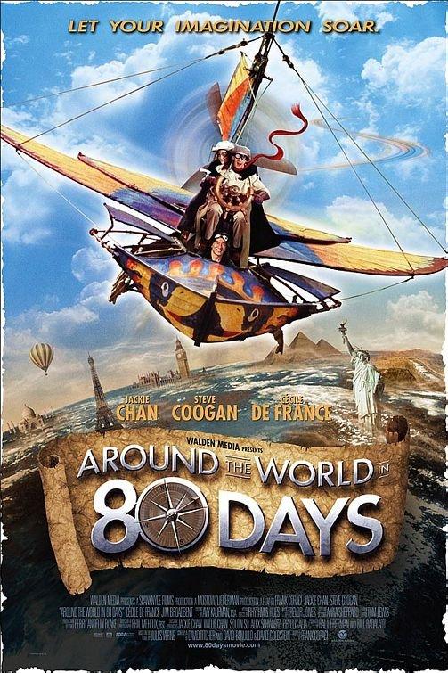 Πόστερ της ταινίας «Ο Γύρος του Κόσμου σε 80 Μέρες (2004)»