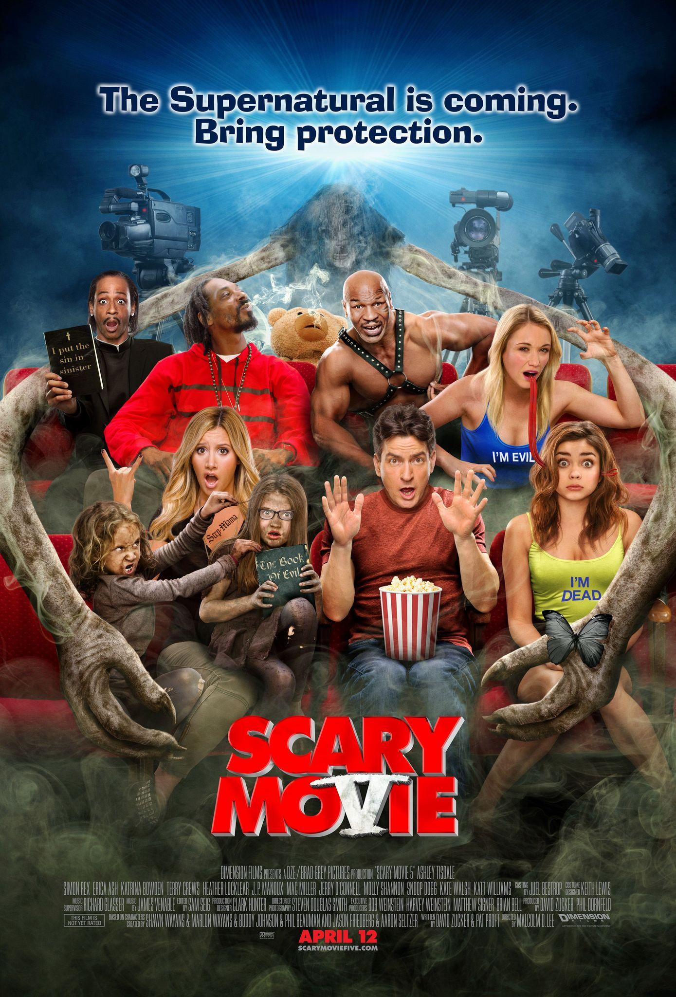 Πόστερ της ταινίας «Scary Movie 5 (2013)»