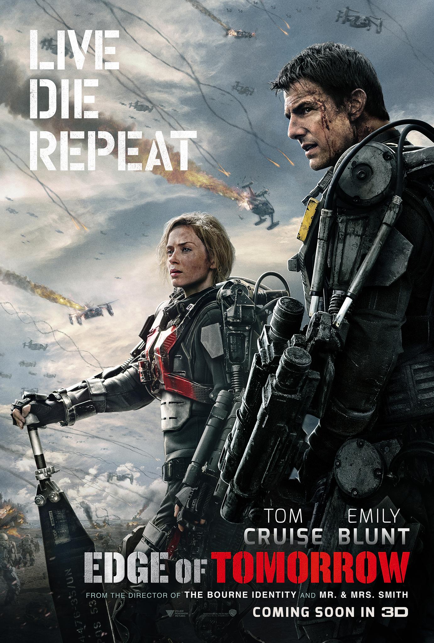 Πόστερ της ταινίας «Στα όρια του αύριο (2014) | Edge of Tomorrow»