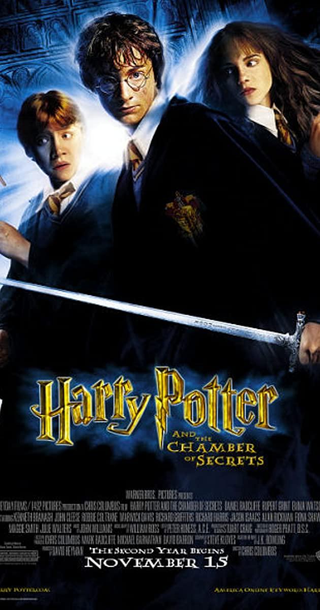 Πόστερ της ταινίας «Ο Χάρι Πότερ και η κάμαρα με τα μυστικά (2002) | Harry Potter and the Chamber of Secrets»