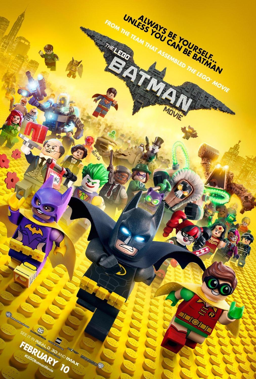Πόστερ της ταινίας «Η Ταινία LEGO Batman (2017)   The Lego Batman Movie»
