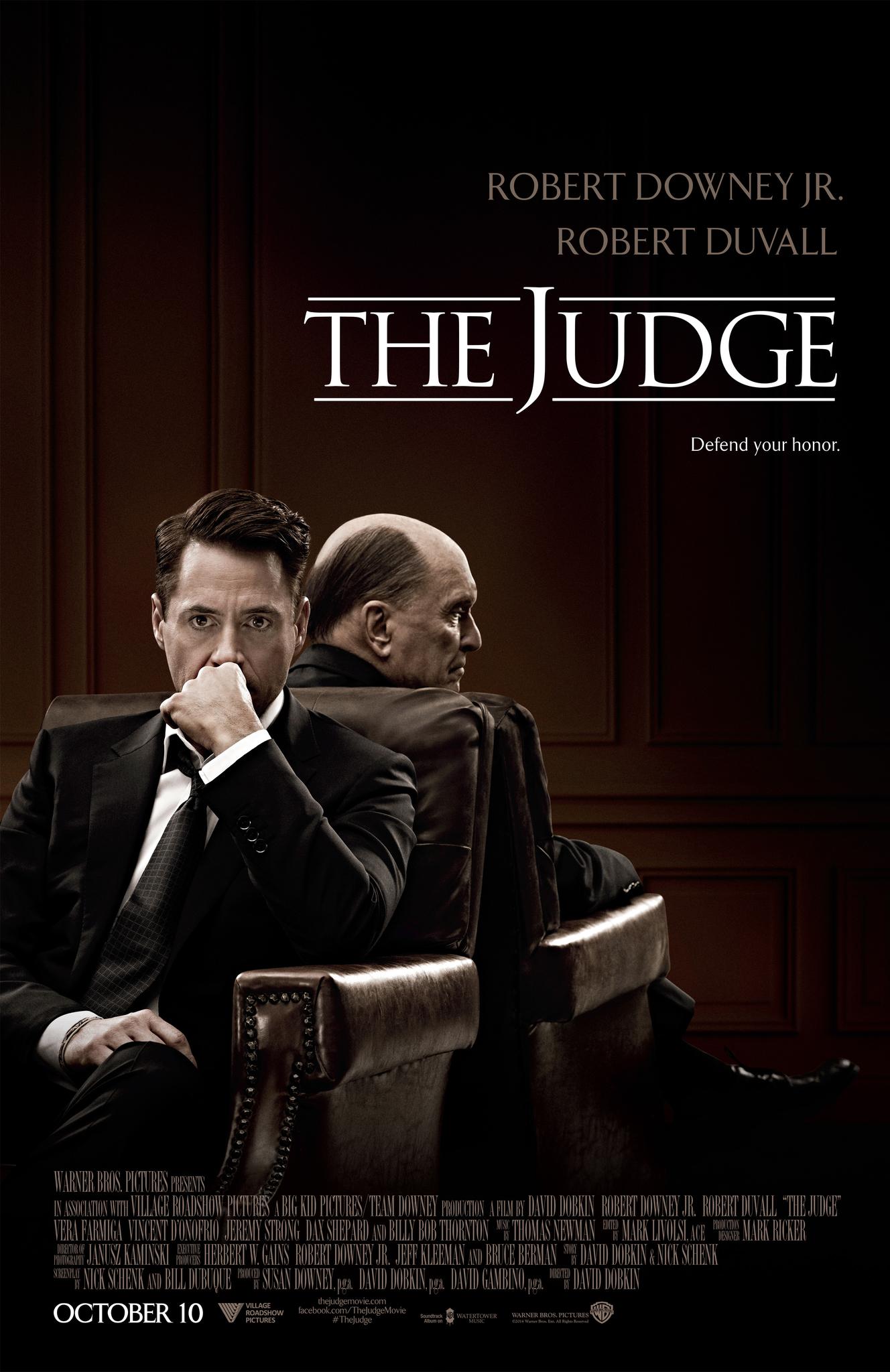 Πόστερ της ταινίας «Ο Δικαστής (2014) | The Judge»