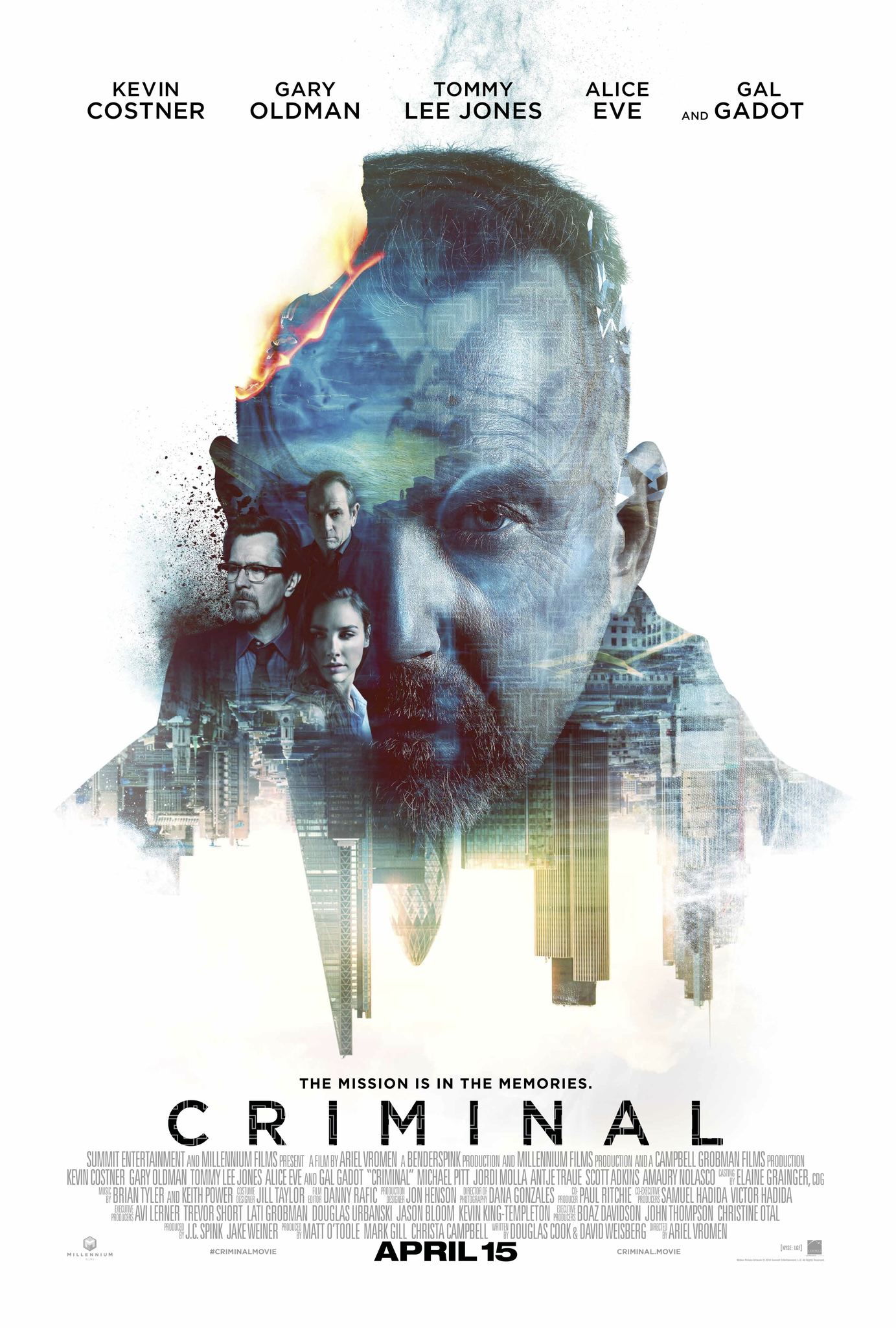 Πόστερ της ταινίας «Criminal (2016)»