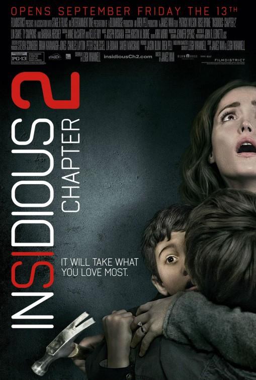 Πόστερ της ταινίας «Παγιδευμένη Ψυχή: Κεφάλαιο 2 (2013)   Insidious: Chapter 2»