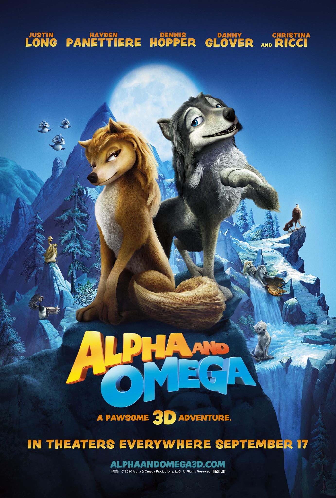 Πόστερ της ταινίας «(Γ)λυκάκια (2010) | Alpha and Omega»