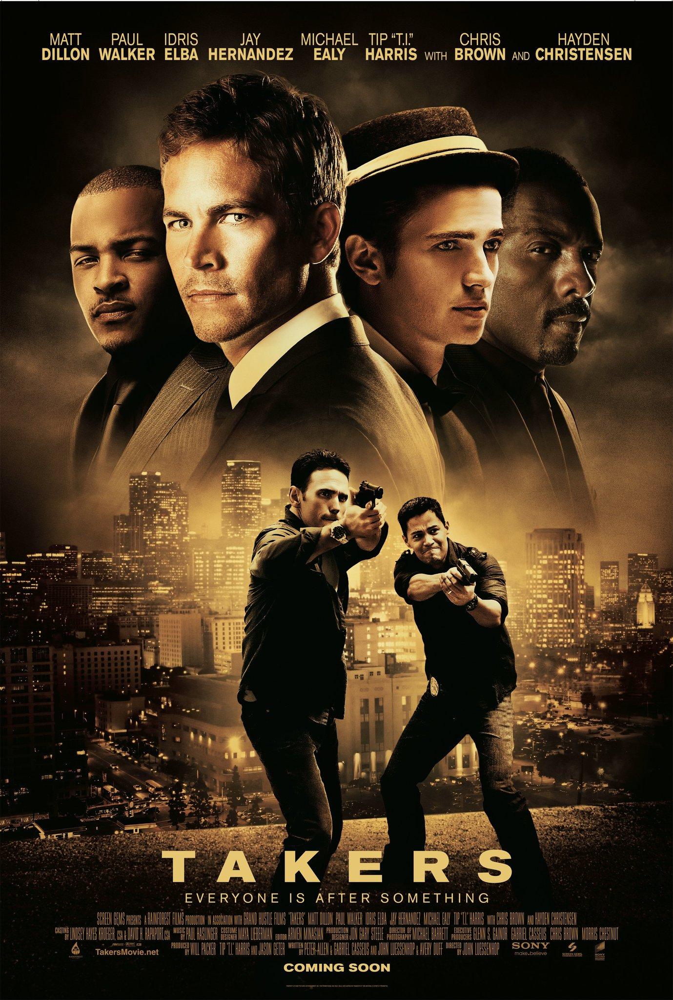 Πόστερ της ταινίας «Ασύλληπτη Συμμορία (2010) | Takers»