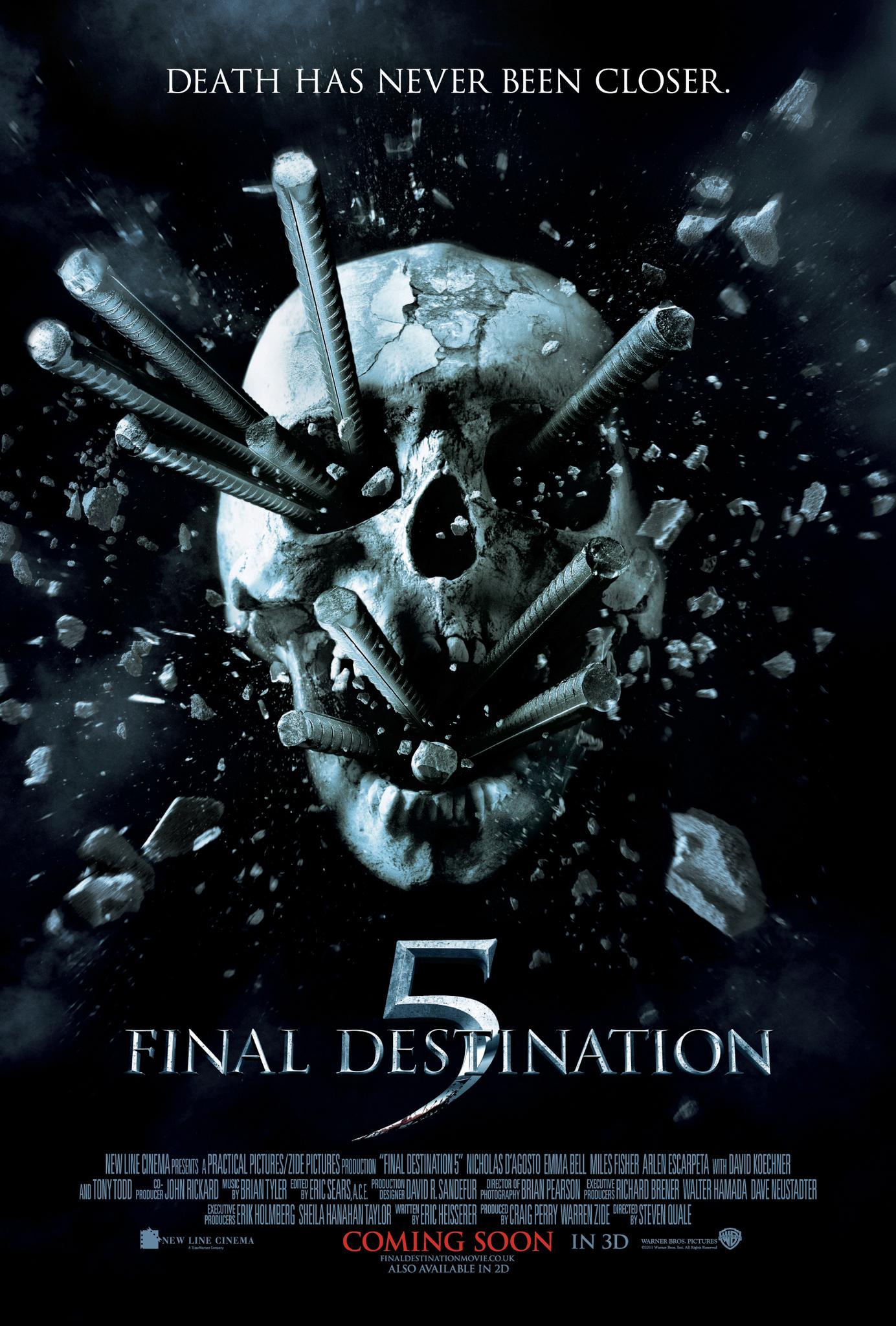 Πόστερ της ταινίας «Βλέπω το Θάνατό σου 5 (2011)   Final Destination 5»