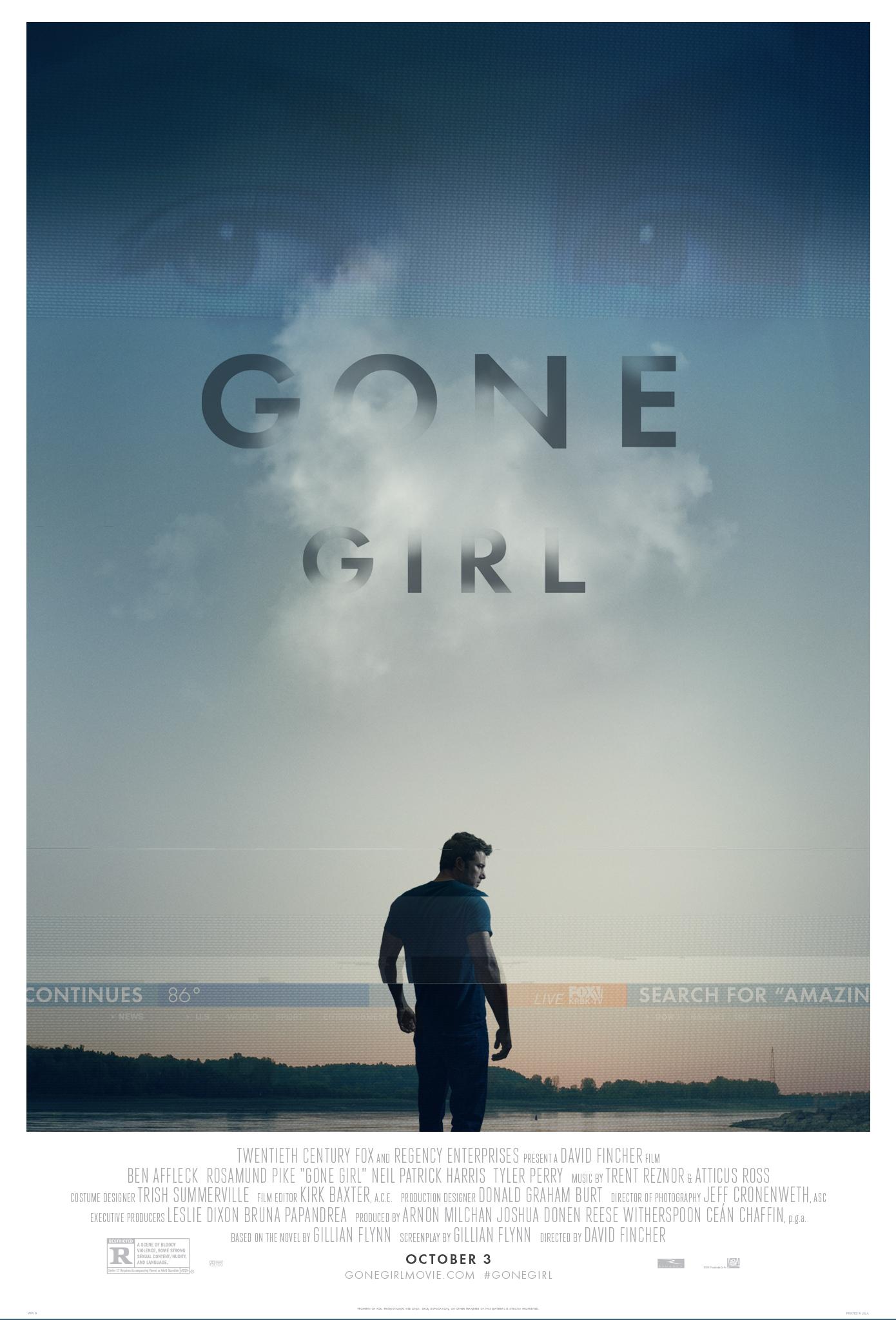 Πόστερ της ταινίας «Το Κορίτσι που Εξαφανίστηκε (2014) | Gone Girl»
