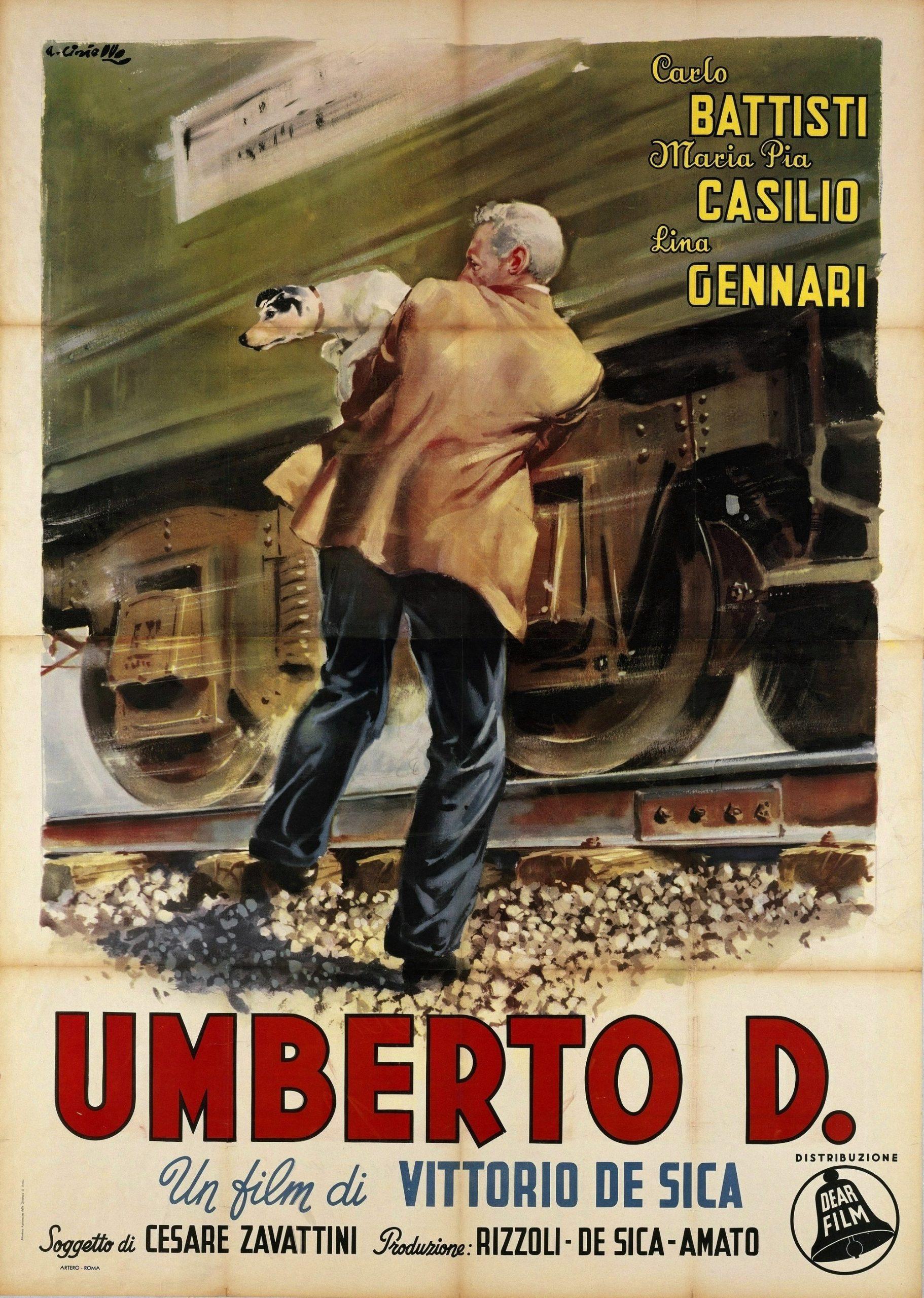 Πόστερ της ταινίας «Ό,τι μου αρνήθηκαν οι άνθρωποι (1952)   Umberto D.»